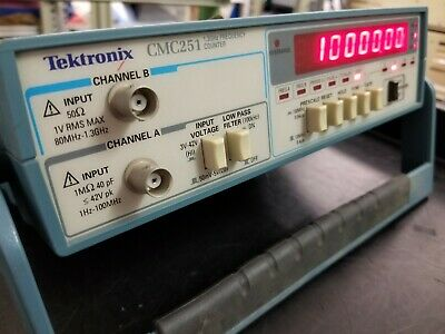 *VB offers acpt* Vintage TEKTRONIX CMC251 1.3 GHz Frequency Counter