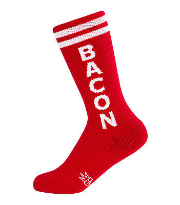 Gumball Poodle Kids Knee High Socks - Bacon - Unisex