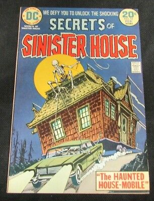 Secrets of Sinister House #16 (1974) DC Bronze Age VF 8.0 N614