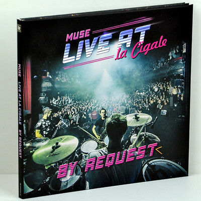 MUSE Live at LaCigale Paris France 24Feb2018 By Request Show 2CD Digipak Box