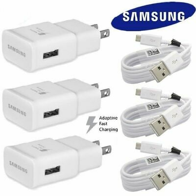 Original Adaptive Rapid Fast Charger and Samsung Galaxy S7 S6 Edge Note 5 Note 4