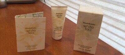 Elizabeth Arden White Tea Trio- Eau de Toilette, Hand Cream, Sample Size