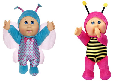 Cabbage Patch Cuties Dolls Bundle 2 Flutter Butterfly /& Macie Bumble Bee 2 for 1
