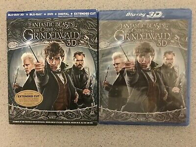 Fantastic Beasts The Crimes of Grindelwald 3D Blu-Ray+DVD+Digital Download