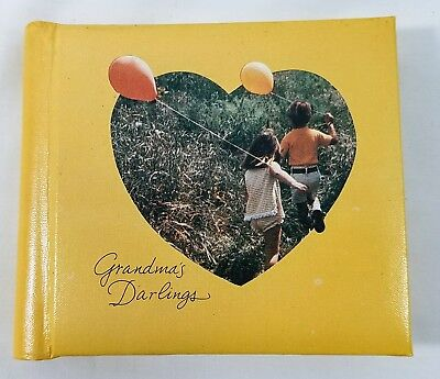 Vintage Hallmark Mini Photo Album Grandma's Darlings Kodak Instamatic Camera