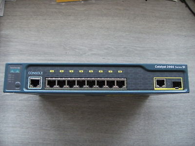 Cisco switch Catalyst 2960 Series SI 8 Port gigabits Network WS-C2960-8TC-S-V03