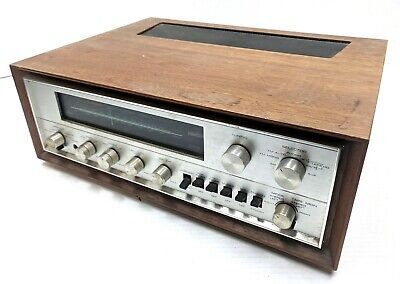 Vintage Pioneer SX-1000TW Solid State AM/FM Stereo Receiver Wood Case Tested