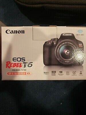 Canon EOS Rebel t6 with Carry Case And Lens