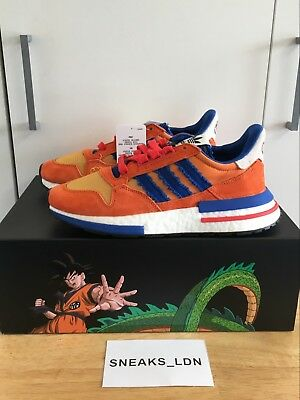 best service ce34c 95625 Adidas x Dragon Ball Z ZX 500 RM Son Goku UK6  US6.5