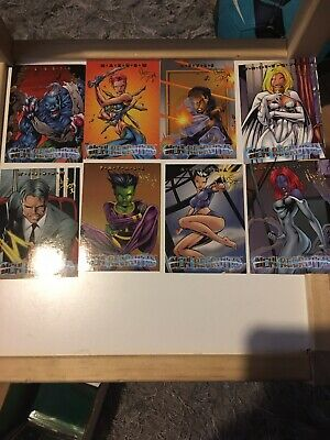 Xmen Timelines New Recruits 8 Card Chase Set