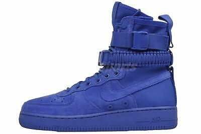 wholesale dealer f7630 1c635 Nike SF AF1 Casual Mens Air Force 1 Special Field Boots Shoes Blue 864024- 401