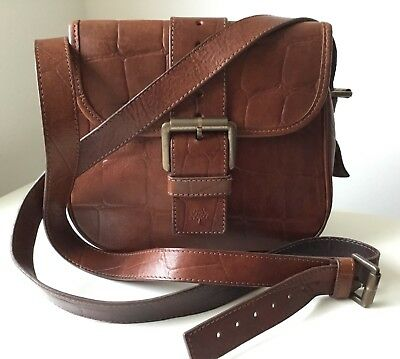 ef9a8b6ed0e5 VINTAGE MULBERRY BROWN Congo Leather Matilda Cross Body Shoulder ...
