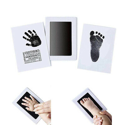 Footprint Mess Free Souvenir Baby Newborn Safe Infant Handprint Ink Pad Inkless