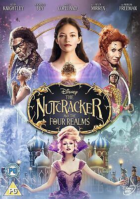 The Nutcracker and the Four Realms Brand NEW Sealed DVD PRE-ORDER 8717418541842
