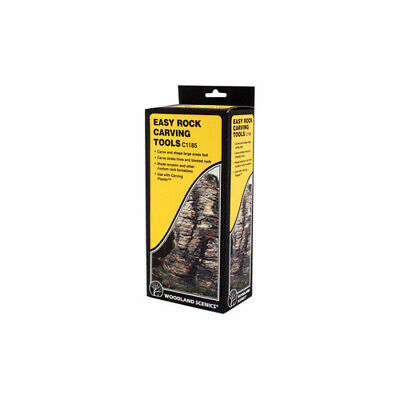 Rock Carving Set from Woodland Scenics. #C1185 Woodlands