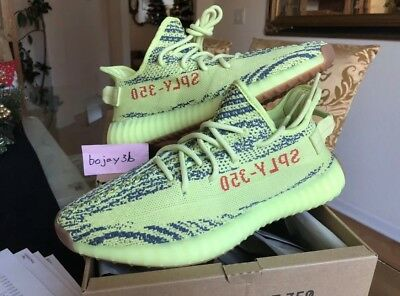 3a8fe122219 Adidas Yeezy Boost 350 V2 Semi Frozen DS 9 US 2018 Kanye West Ultra Zebra  Bred