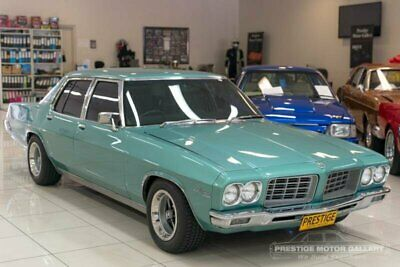 1971 Holden Statesman HQ De Ville Green Automatic 3sp A Sedan