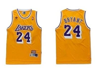 NWT Kobe Bryant #24 Los Angeles Lakers Classic Stitched Basketball Jersey