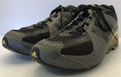 ebf15abe00f67 Vintage Men s Adidas Bounce Shoes Running Athletic Size 13 Rare 2007 Gray  Yellow