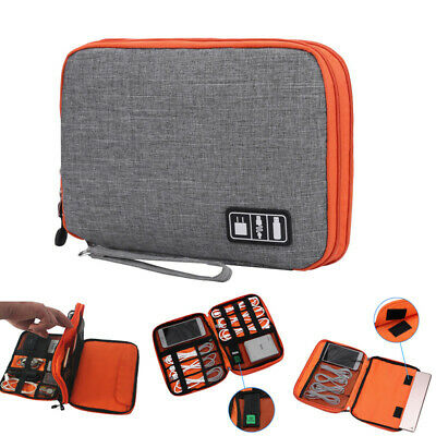 Electronic Organizer Bag Travel Digital Ipad USB Charger Cable Accessories Cases