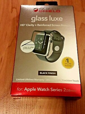 ZAGG InvisibleShield Luxe Screen Protector for Apple Watch Series  2