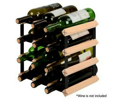 Wine Rack and Storage Timber - 12 Bottle