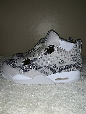23756da6592 Air Jordan Retro 4 Premium Pinnacle Snakeskin Size 9.5 Dead Stock New in Box
