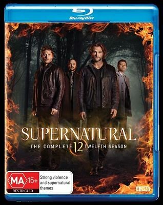 Supernatural : Season 12 Blu-Ray : NEW