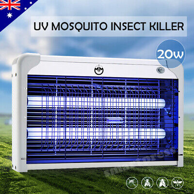 Electric UV Mosquito Insect Zapper Killer Lamp Fly Bug Pest Control Light Trap