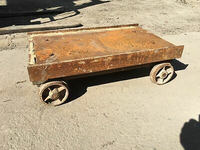Old Rustic Miners Carts 770long X 470wide X 230d Price Is Per Cart