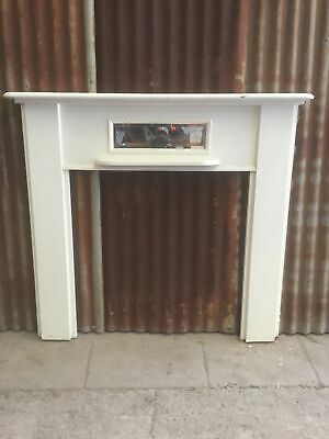 Timber Mantle Fireplace Surround 1300w x 1265h x 50d