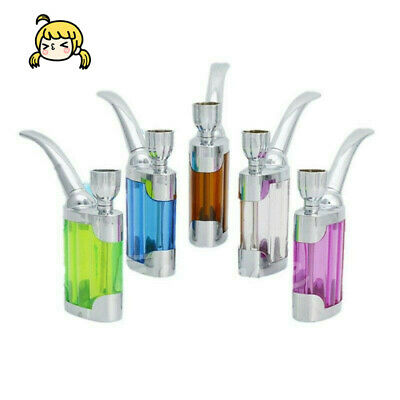 NEWPortable Mini Water Smoke Pipe Hookah Bong Smoking Tobacco Bubbler Gift