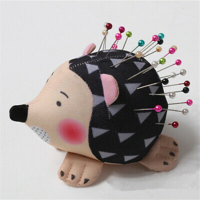 Hedgehog Shape Soft Fabric Pin Cushion Pin Quilting Holder DIY Sewing Craft Tool