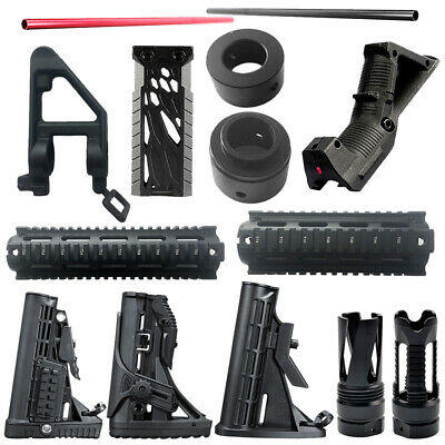 Upgrade Material Metal Fishbone fr JinMing M4A1 Gen8 Gel Ball Toy Gun Blaster TE
