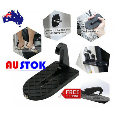 Doorstep Vehicle Access Roof Of Car Door Step Give You Latch Easily Rooftop SUV