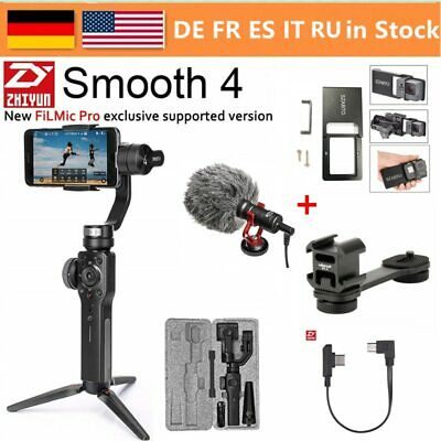 Zhiyun Smooth 4, 3-Axis Handheld Gimbal Stabilizer for Smartphone Action Camera