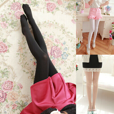 b8714beede1 Sexy Women Thick 200D Stockings Slim Pantyhose Velvet Tights Opaque Footed  Socks