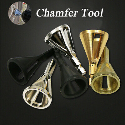 Deburring External Chamfer Tool Stainless Steel Remove Burr Tools for Drill Bit