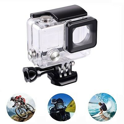 For Pro Hero 3+ 4 Go Pro 45m Waterproof Diving Protective Housing Clear Case