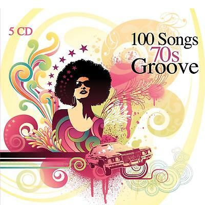 5 CD 100 Songs 70s Groove, Record & Afro, Funk & Soul, Psychedelic, Soundtracks