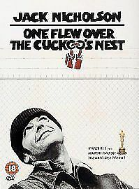 One Flew Over The Cuckoo's Nest Dvd Jack Nicholson Brand New & Factory Sealed