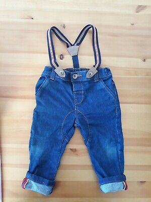 Jasper Conran Junior J baby boys denim jeans trousers 6-9 months