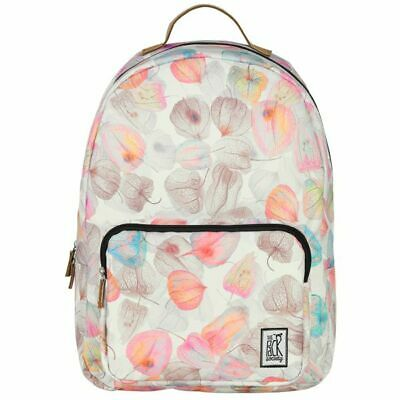 780a0b2a021d3 The Pack Society BACKPACK COOL PRINTS Off White Petals Allover Rucksack NEU