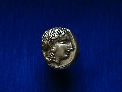 ATHENS Attica Greece Athena Owl Tetradrachm Ancient Silver Greek Coin - AOE -