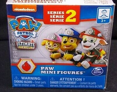 Paw Patrol Series 2 open blind box Ultimate Rescue mini figure Select from Menu