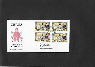 Ghana 1981 - Papal Visit Stamps- FDC