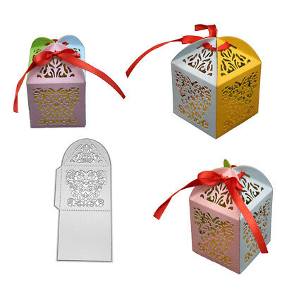 Gift Box Metal Cutting Dies Diy Scrapbooking Embossing Cards Craft Stencil Supre