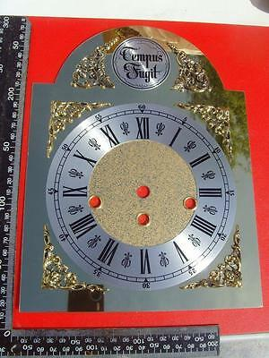22/2 :cjs#3a   Quality Hermle   clock dial brand new 3 winding holes