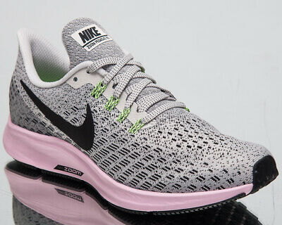 0fab796ccec5 Nike Air Zoom Pegasus 35 Women s New Grey Black Pink Running Shoes 942855- 011