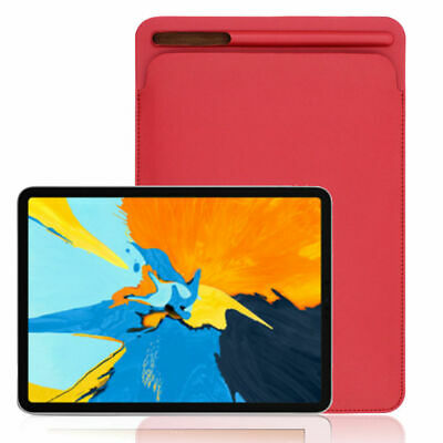 Leather Sleeve Case Cover Pouch Skin for Apple Pencil 2nd & iPad Pro 11inch 2018